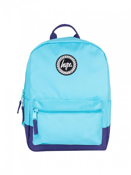 Hype Light Blue/Purple Mini Backpack