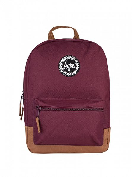 Hype Red/Tan Mini Backpack
