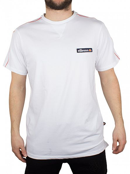 Ellesse Optic White San Ginesio Logo T-Shirt