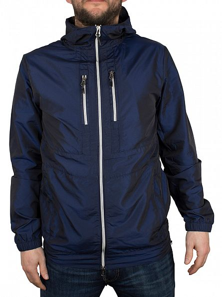 Foray Dress Blue Steam Lightweight Hooded Jacket
