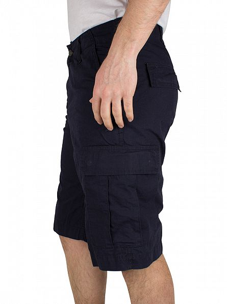 Carhartt WIP Dark Navy Rinsed Regular Cargo Shorts