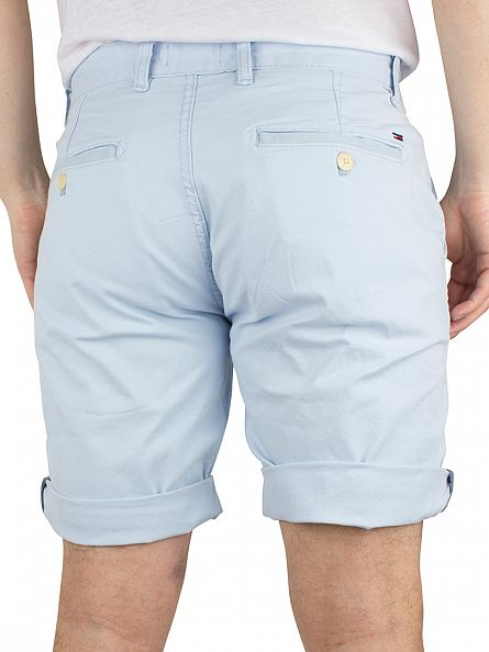 Hilfiger Denim Cashmere Blue Freddy Straight Logo Chino Shorts