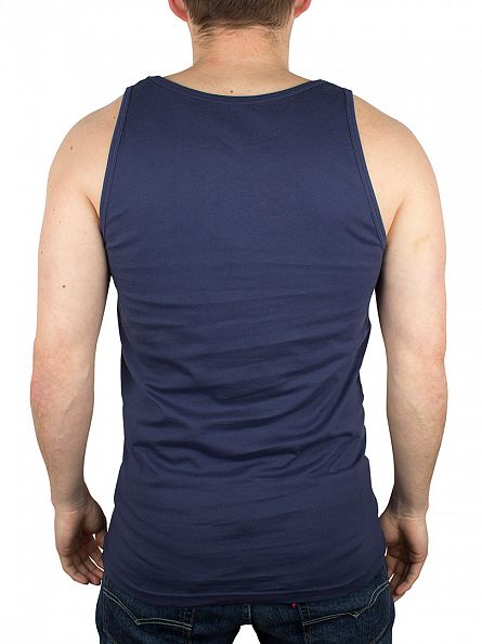 Carhartt WIP Blue Exec Plain Vest