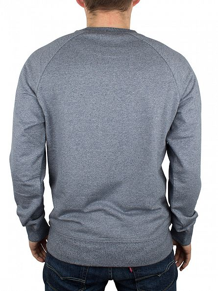 Carhartt WIP Blue Noise Heather Holbrook Marled Sweatshirt