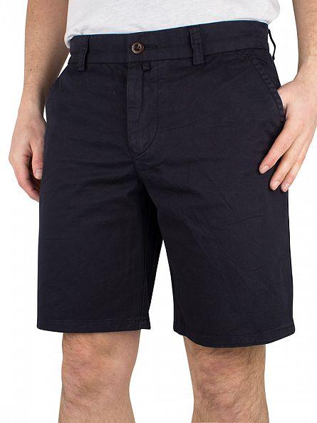 Gant Navy Regular Comfort Chino Shorts