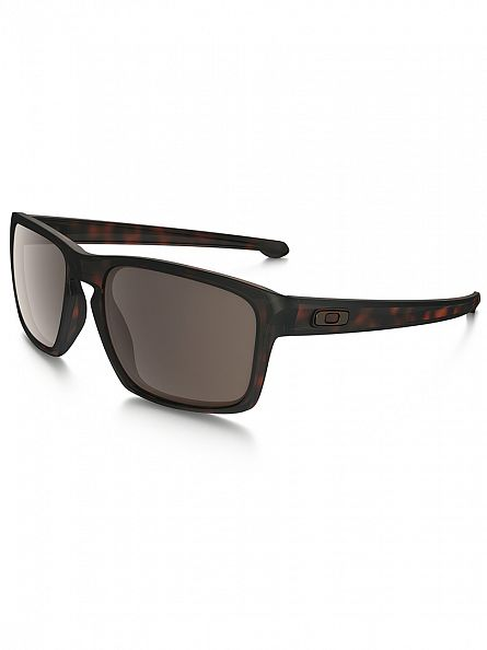 Oakley Matte Brown Tortoise/Warm Grey Silver Sunglasses