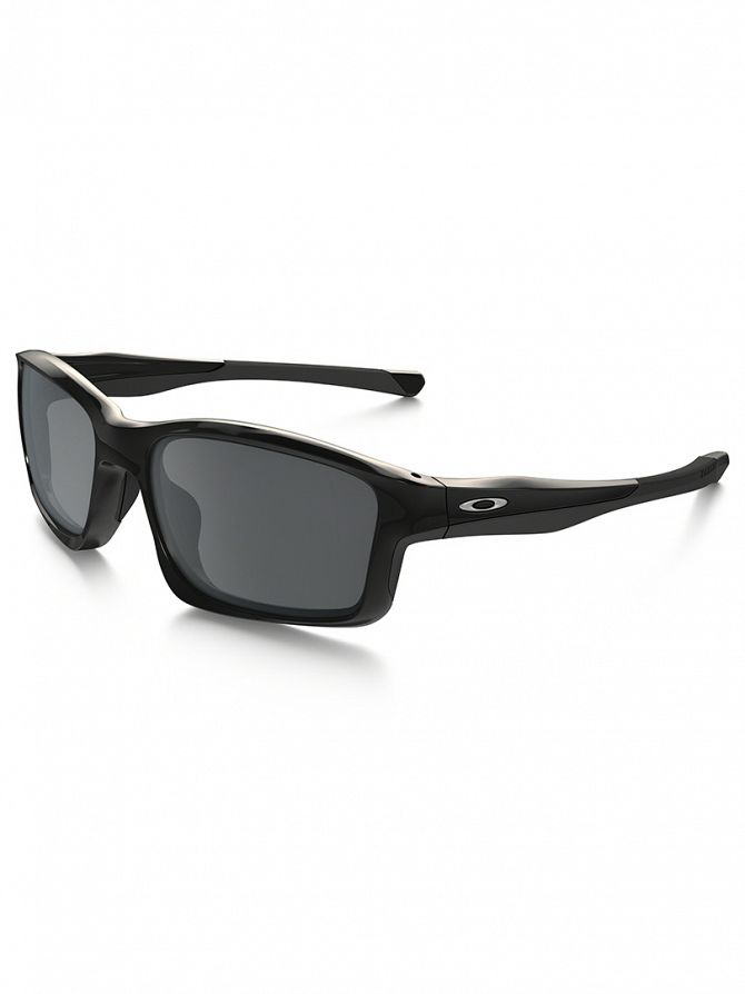 Oakley Polished Black/Black Iridium Chainlink Sunglasses