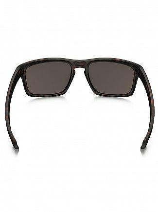 Oakley Matte Brown Tortoise/Warm Grey Silver Sunglasses