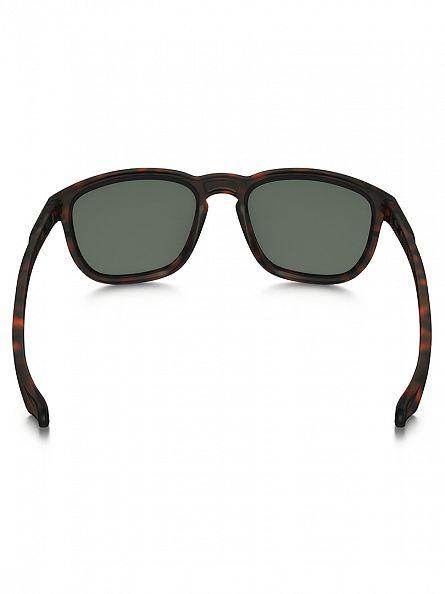 Oakley Matte Brown Tortoise/Dark Grey Enduro Sunglasses