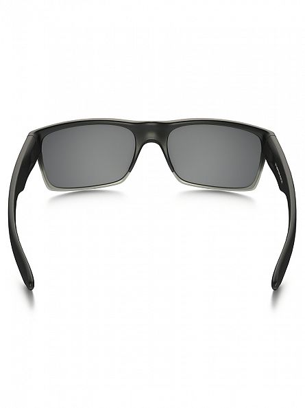 Oakley Machinist Matte Black/Chrome Iridium Twoface Sunglasses