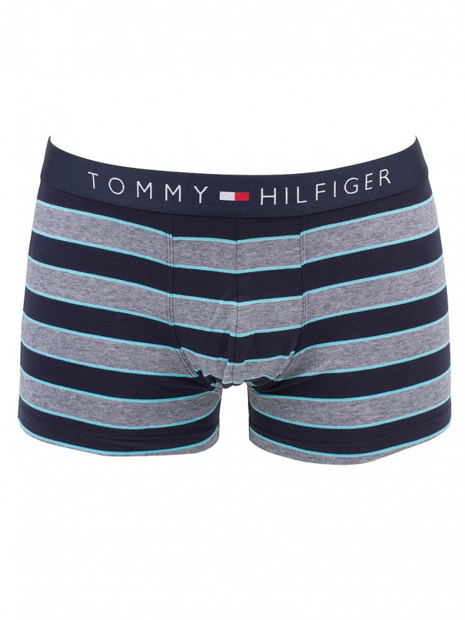 Tommy Hilfiger River Blue Icon Multi Stripes Trunks