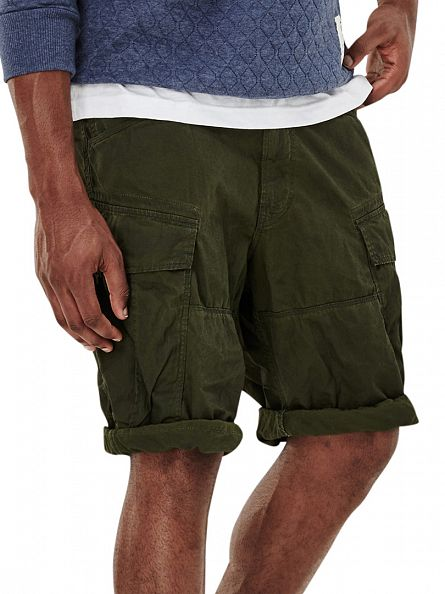 G-Star Sage/Bright Rovic Green Rovic Loose Fit 1/2 Cargo Shorts