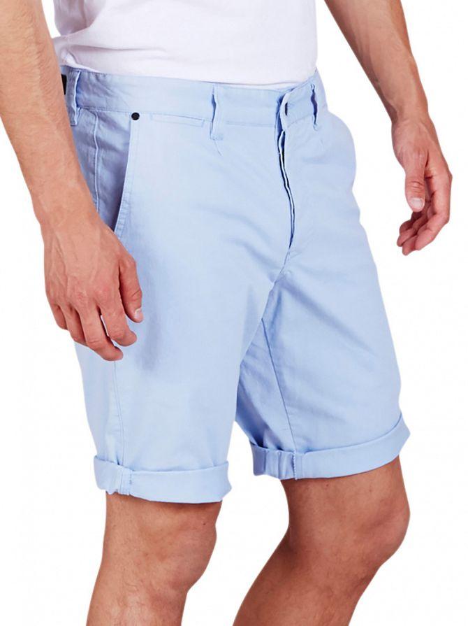 Minimum Cashmere Blue Frede Chino Shorts