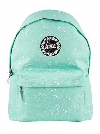 Hype Mint/White Splat Backpack