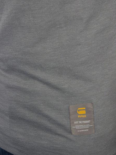 G-Star Platinum Grey Slim Fit Twanim Marled Pocket Sweatshirt