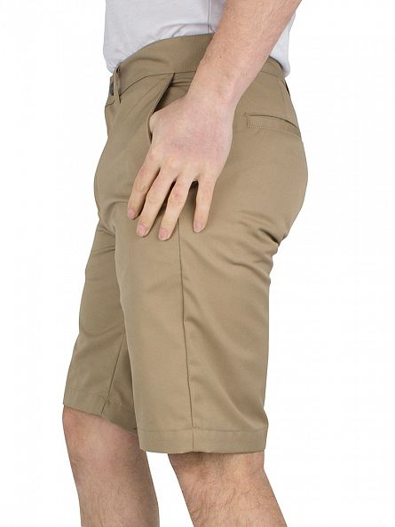 Edwin Light Khaki Union Chino Shorts