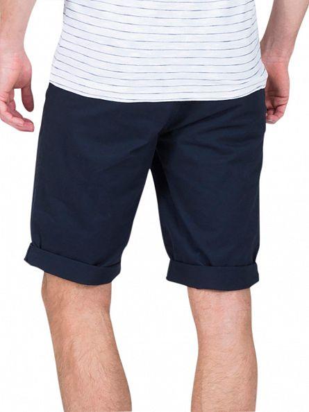 Minimum Navy Frede Chino Shorts