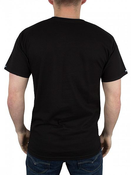 Crooks & Castles Black No 38 Graphic T-Shirt