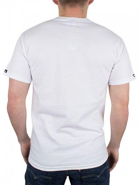 Crooks & Castles White No 38 Graphic T-Shirt