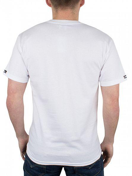 Crooks & Castles White Metal Medusa Graphic T-Shirt