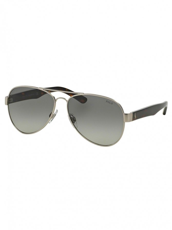 Polo Ralph Lauren Chrome Metal Man Sunglasses