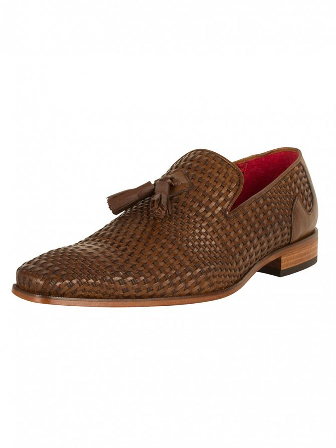 Jeffery West Pasado Tan/Kenda Tan Scarface Weave Shoes