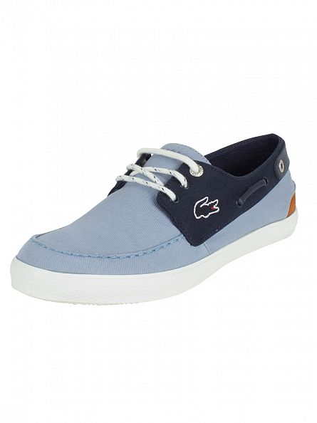 Lacoste Light Blue Sumac 216 1 Cam Trainers
