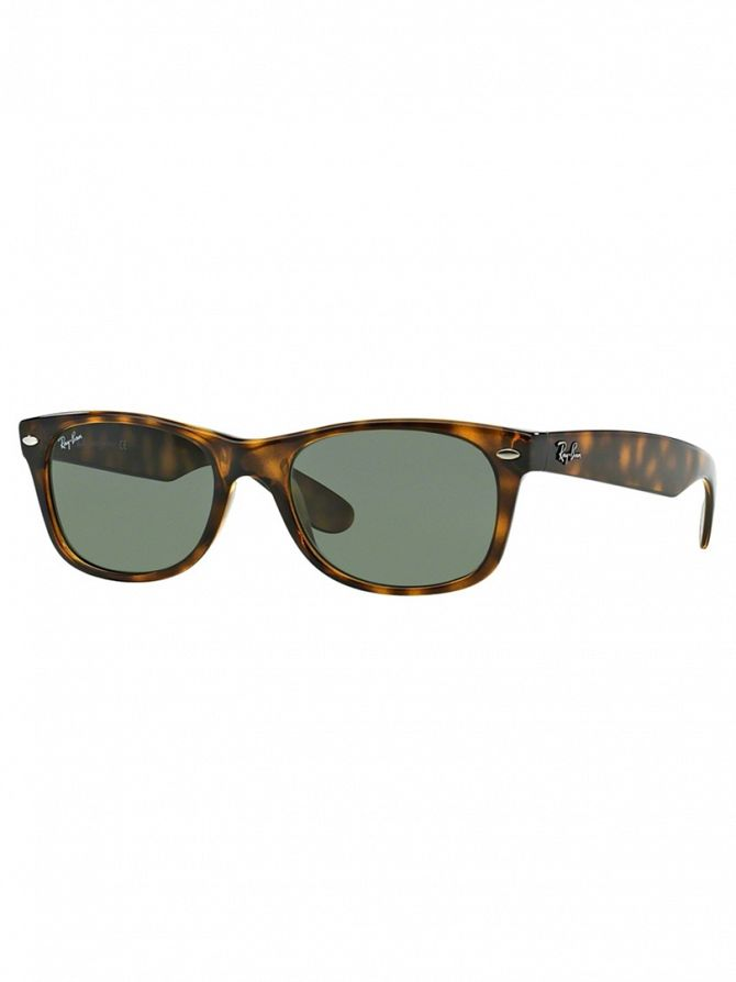 Ray-Ban Tortoise New Wayfarer Sunglasses RB2132