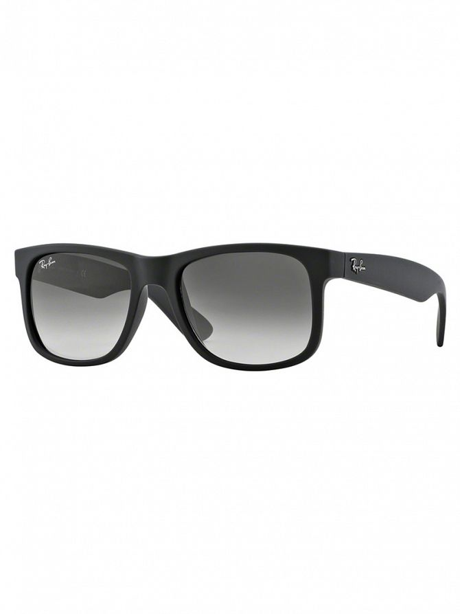Ray-Ban Rubber Black Justin Sunglasses RB4165