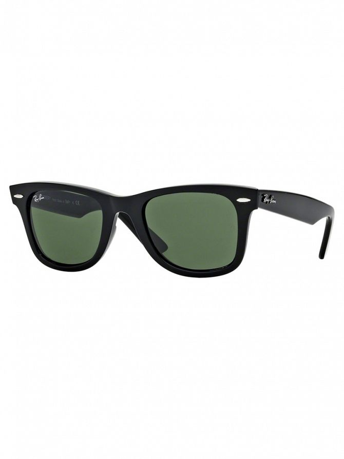 Ray-Ban Black Wayfarer Sunglasses RB2140 47