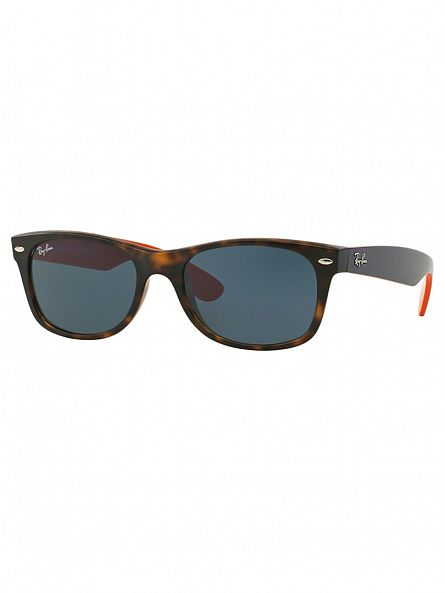 Ray-Ban Matt Havana New Wayfarer Sunglasses RB2132