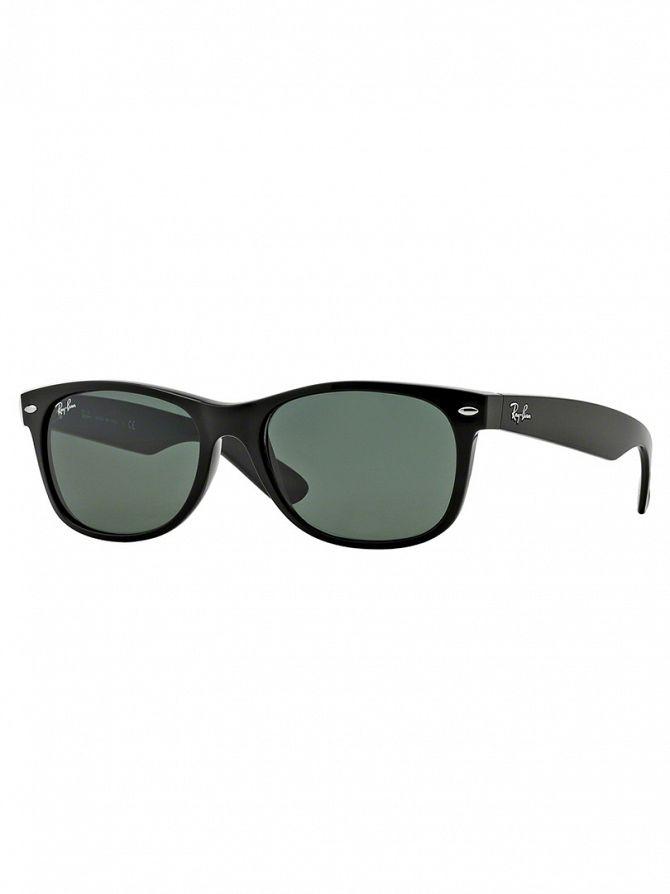 Ray-Ban Black New Wayfarer Sunglasses RB2132