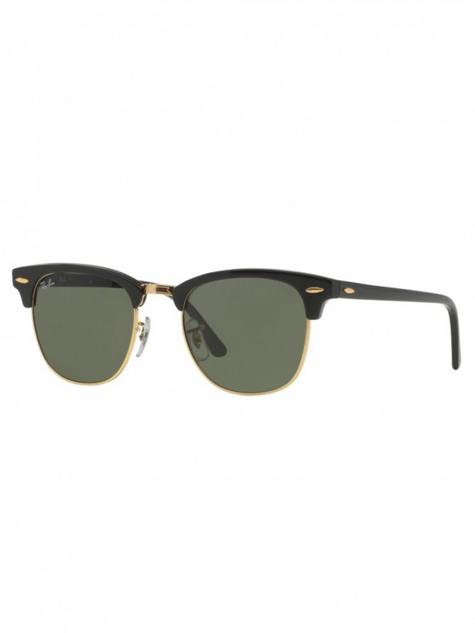 Ray-Ban Ebony/Arista Clubmaster Sunglasses RB3016