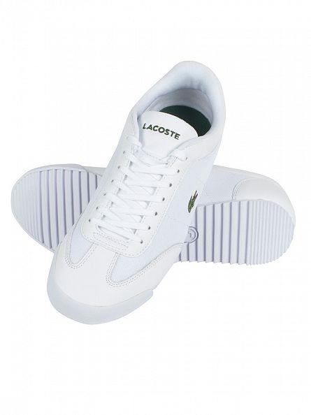 Lacoste White Romeau 216 1 SPM Trainers