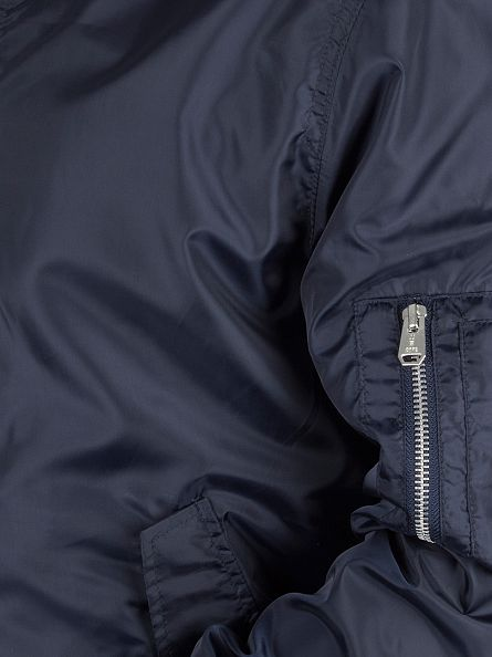 Jack & Jones Navy Blazer Weekend Light Bomber Jacket