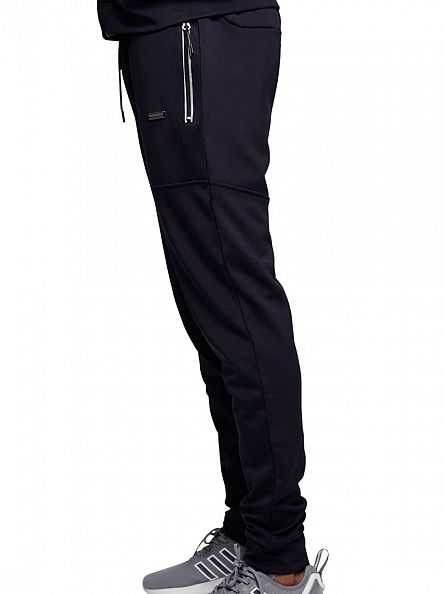 Foray Navy Turn Logo Panel Joggers