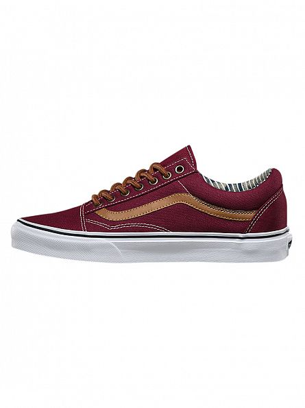 Vans Port Royale/Stripe Denim Old Skool C&L Trainers