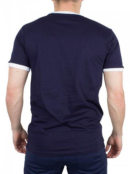Fila Vintage Peacoat Marconi Tipped Logo T-Shirt
