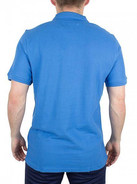 Fila Vintage Ocean Cranze Logo Polo Shirt
