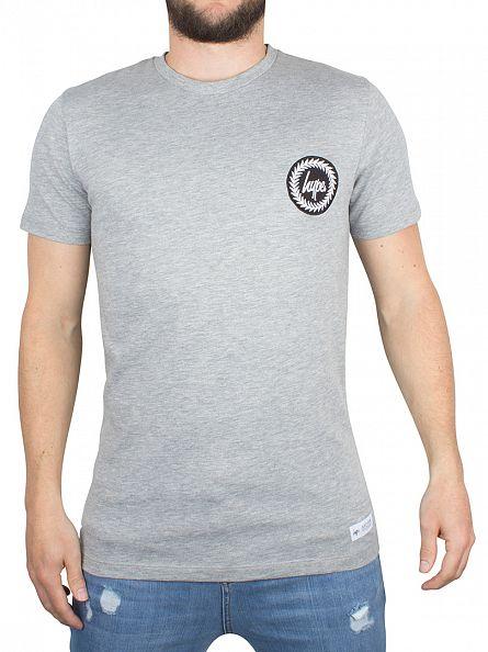 Hype Grey Crest Logo T-Shirt