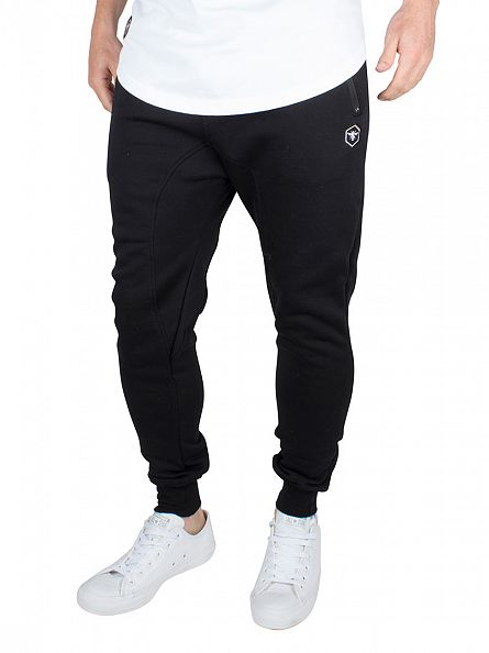 Bee Inspired Black Logo Sweat Joggers
