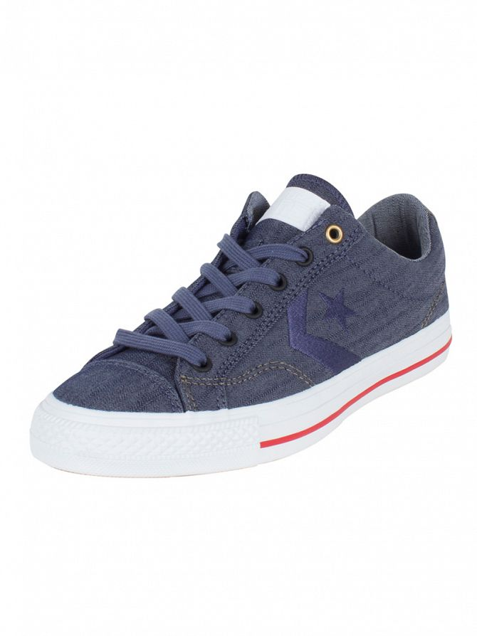 Converse Navy/Khaki/Indigo Star Player OX Trainers