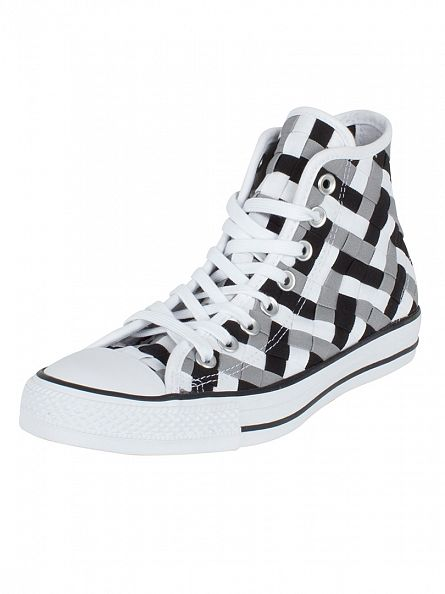 Converse Dolphin/Black/White CTAS Hi Trainers