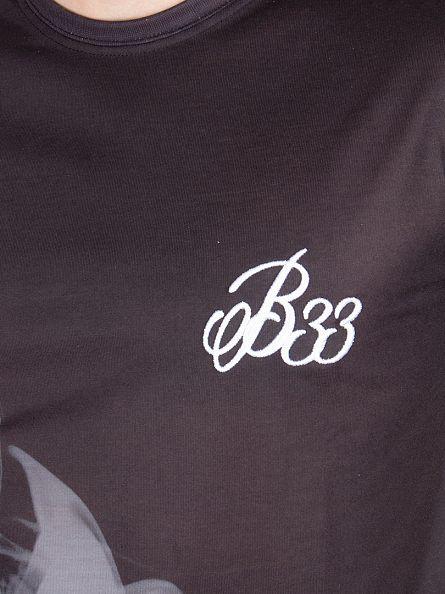 Bee Inspired Black/White Vapor Graphic T-Shirt