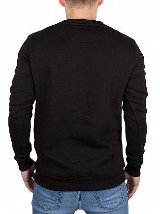 Hype Black Crest Logo Sweatshirt