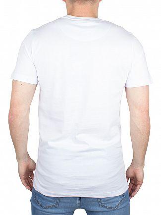 Hype White Crest Logo T-Shirt