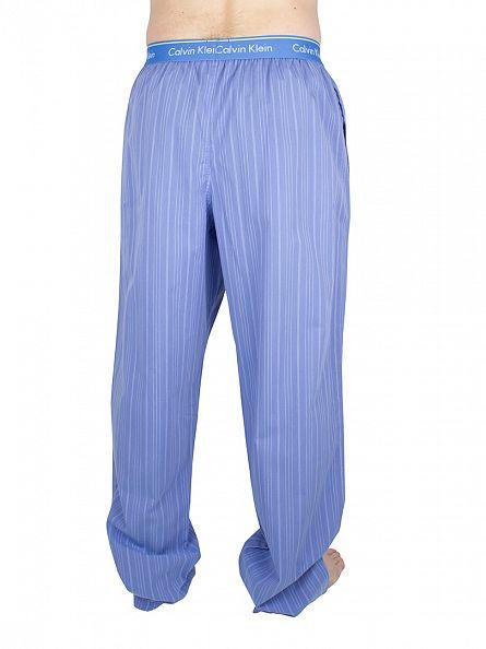 Calvin Klein Urban Blue Logo Waistband Osborne Stripe Pyjama Bottoms