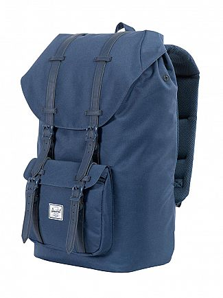 Herschel Supply Co Navy/Navy Little America Straps Backpack