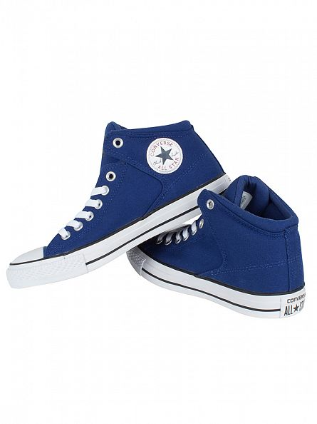 Converse Roadtrip Blue/White CTAS High Street HI Trainers