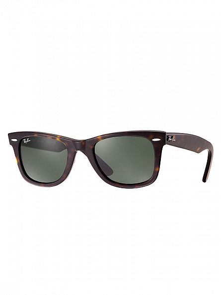 Ray-Ban Brown Wayfarer Acetate Sunglasses RB2140